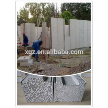 XGZ Fireproof waterproof polystyrene sandwich cement panel
