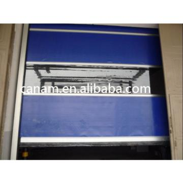 Food Processoring Industrial Motorized Rolling Shutter Plastic Door