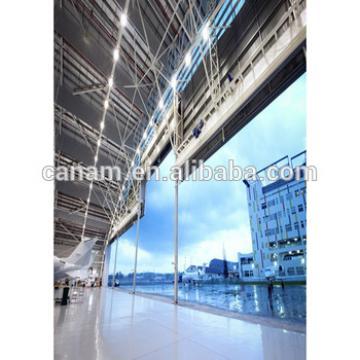 PVC or PU Insulation Hangar Steel Folding Door