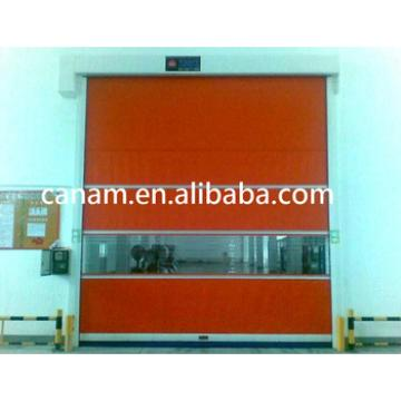 Industrial Interior Fabric High Speed Roll up Door with Ce Certification