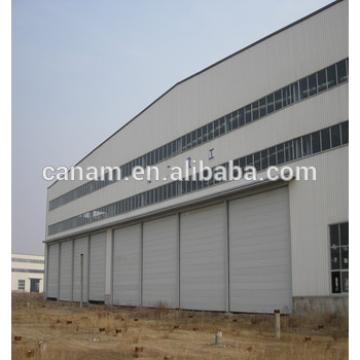 Prefabricated Steel Structure Hangar Design Construction Sliding