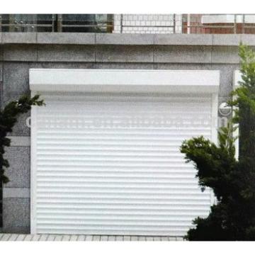 Aluminum commercial garage sliding door