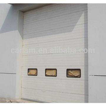 Automatic industrial overhead sectional doors