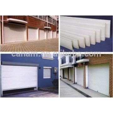 Commercial galvanized steel vertical roller shutter doors/rolling shutter doors
