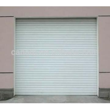 Warehouse industrial automatic rolling door , galvanized automatic steel rolling shutter door