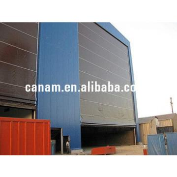 China super large flexible accumulation hangar door/shutter