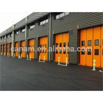 Electric aluminium insulated garage folding door industrial