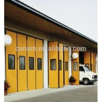 Industral electric aluminum folding door