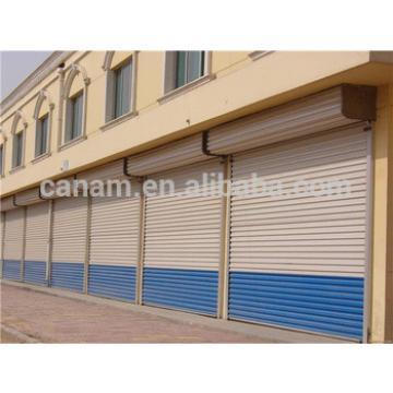 Vertical shop steel roller shutter door