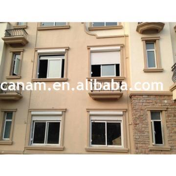 aluminium casement window,roller shutter and retractable mosquito net