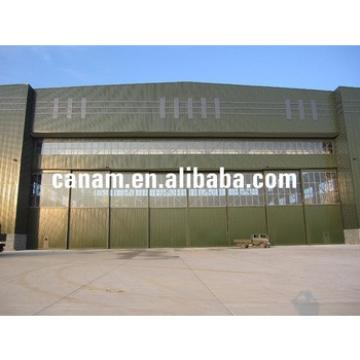 china supplier for light steel structure prefabricated aircraft hangar or steel aircraft hangar