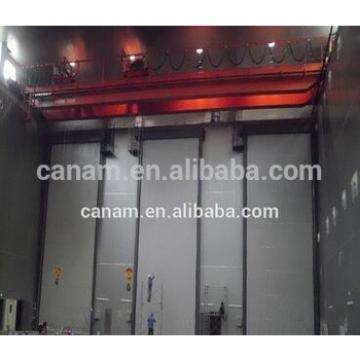 The hangar doors industrial building sliding door