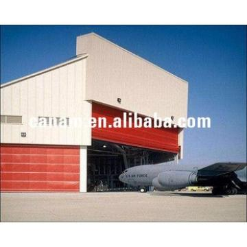 Hangar's sliding door