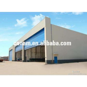 Prefabricated steel structure aircraft hangar project