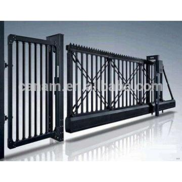 Automatic aluminum alloy suspended sliding door