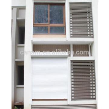 Rolling shutter/ crank operate rolling window