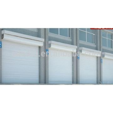 Manual or electrical control vertical commercial roller shutter door