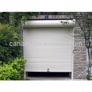 Exterior aluminum roller shutter door for garage