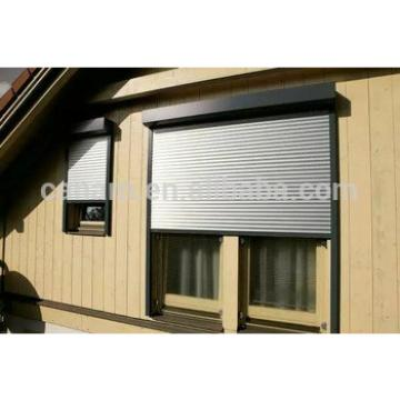 European style aluminum roller shutter window