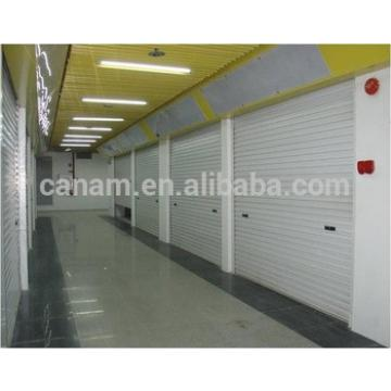 Aluminum commercial garage up sliding door