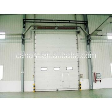 Standard lifting indurstial sectional overhead door