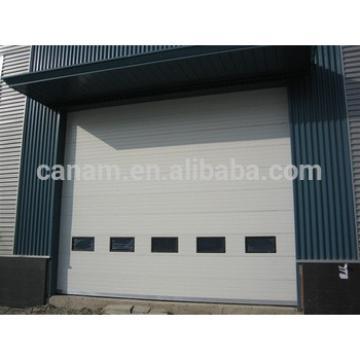 Automatic industrial vertical lifting garage door