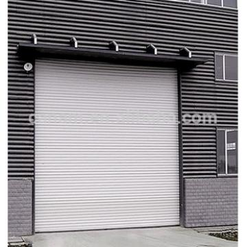 Industrial 120 color steel anti-wind door
