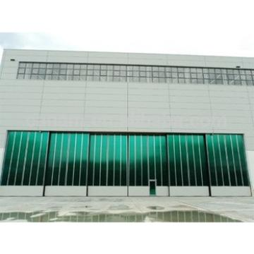 Most commonly used in the industry Glass Sliding Hangar Door