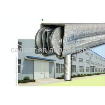 Finished Ready Made Commecial Auto Sliding Steel Industry Folding Door