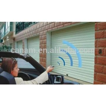 2017 hot quality industrial garage door with automatic or electrical rolling shutter