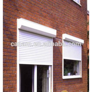 European style aluminum ruller shutter exterior window