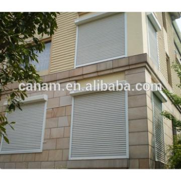 77 aluminum rolling shutter window with low price
