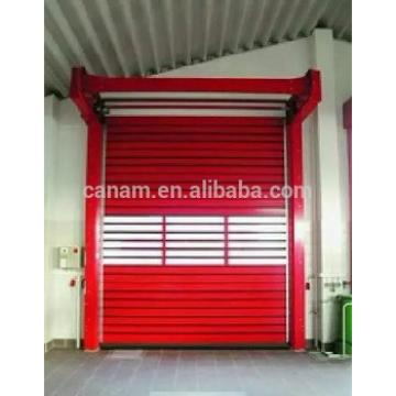 manual high quality aluminum sectional industrial door|fast rapid overhead sandwich door