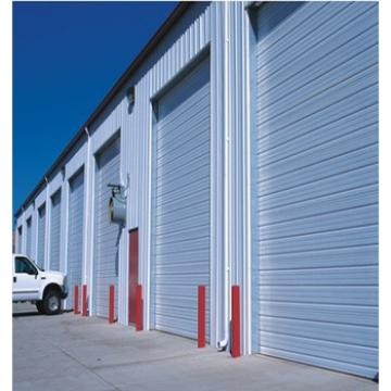 Anti-Wind Color Steel Rapid Rolling Shutter Door