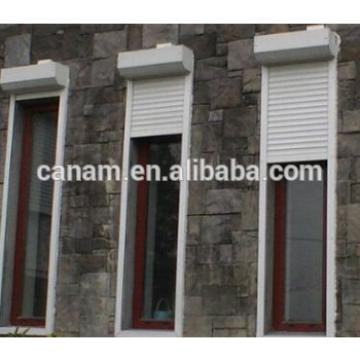 Security Motorized aluminum roller shutter window