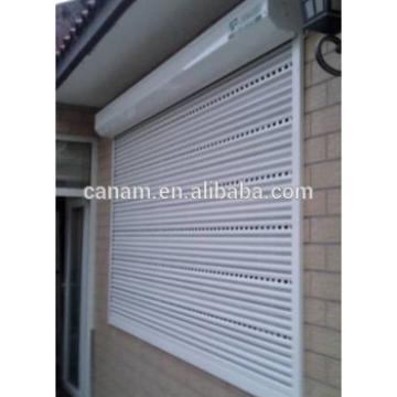 High quality aluminum rolling up window for living room