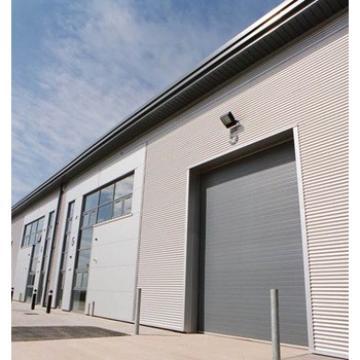 Aluminum rolling wind-resistance industrial door