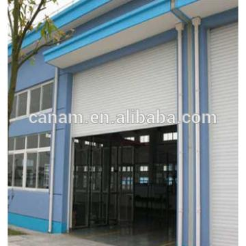 Automatic overhead industrial door