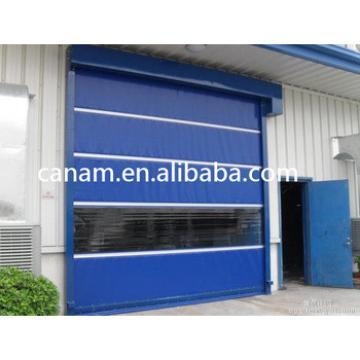 Motorized Polycarbonate commercial roller shutter door