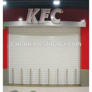 Shop front rolling shutter door