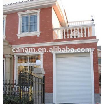 China Residential Aluminum Motorized rolling shutter doors