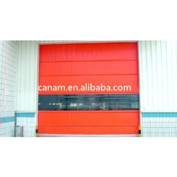 PVC Fast Frameless Door Industrial Auto Door