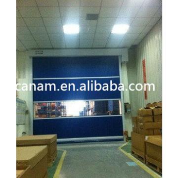 Aluminum frame PVC fabric fast rolling door
