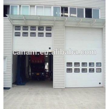 Industrial Section Door Overhead; High Lifting, Vertical Uplifting Available