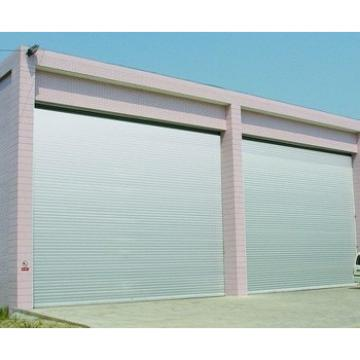 strong structure of the industrial windproof door