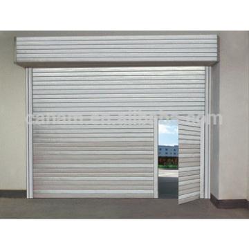 Hot sell steel sectional door, industrial door harga rolling door per meter