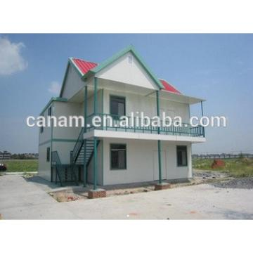 Prefab steel structure container villa with sandwich panel in Malaysia