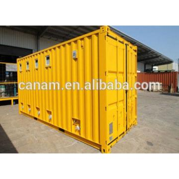 Professional Economic Yellow Mobile Office Containers 20 Feet