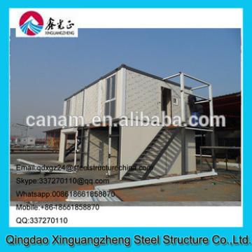 two tier steel structure container oil dormitory