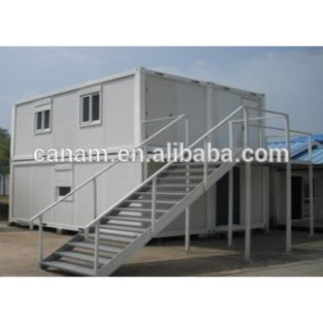 Flat pack container house easy assemble container house with glass window